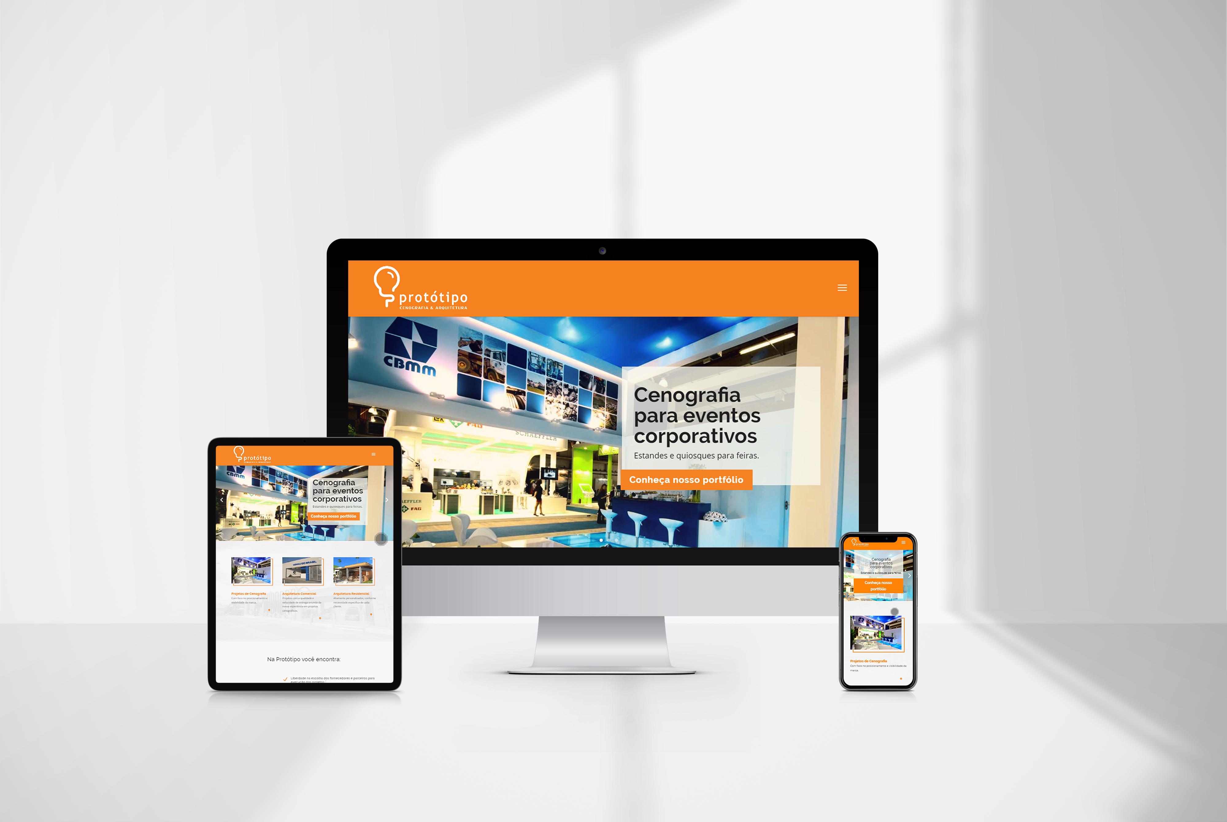 Criação de sites protótipo - agencia de marketing digital casanova digital