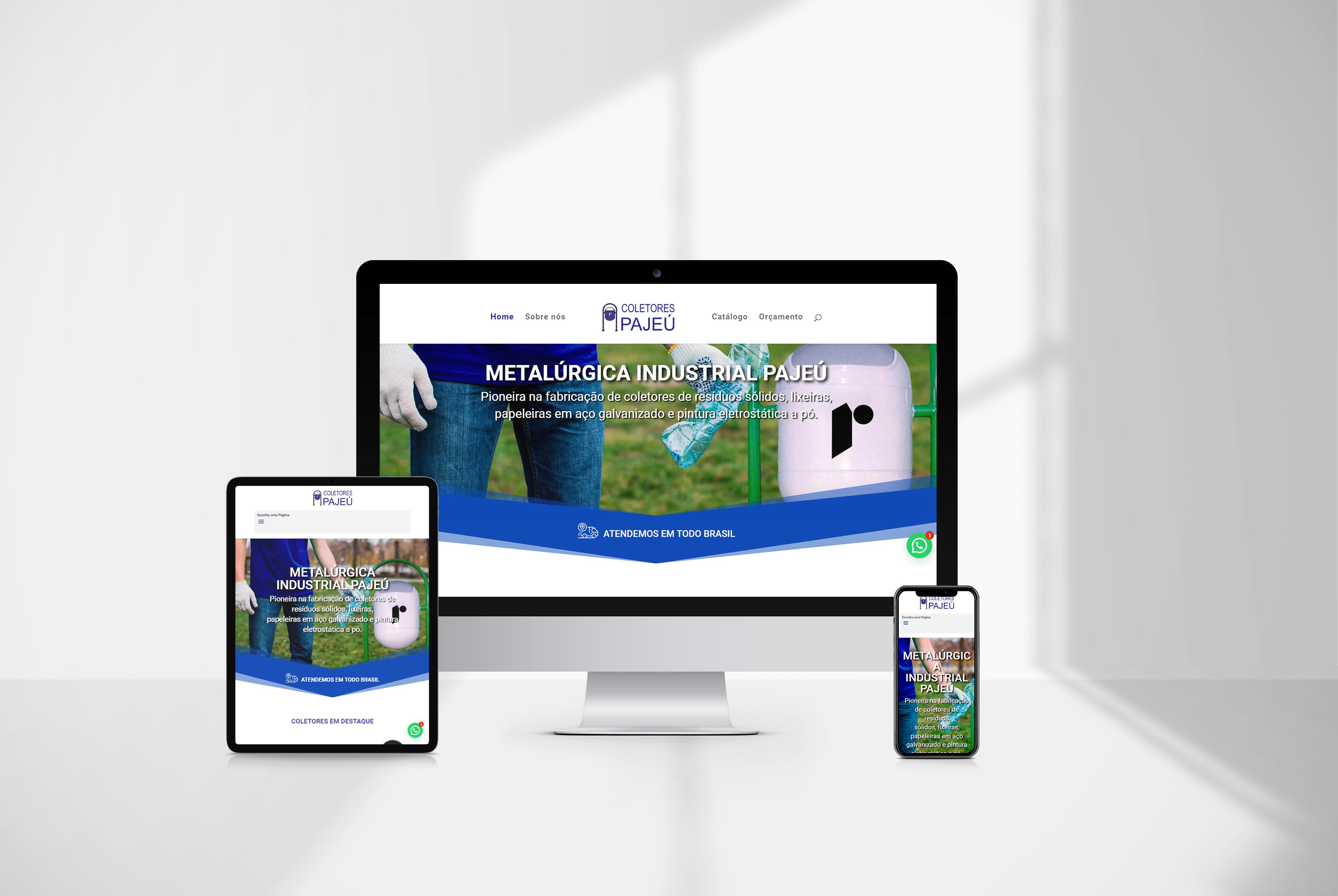 criacao de site Pajeu - agencia de marketing digital casanova digital