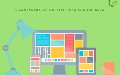 4 vantagens de um site para sua empresa!!