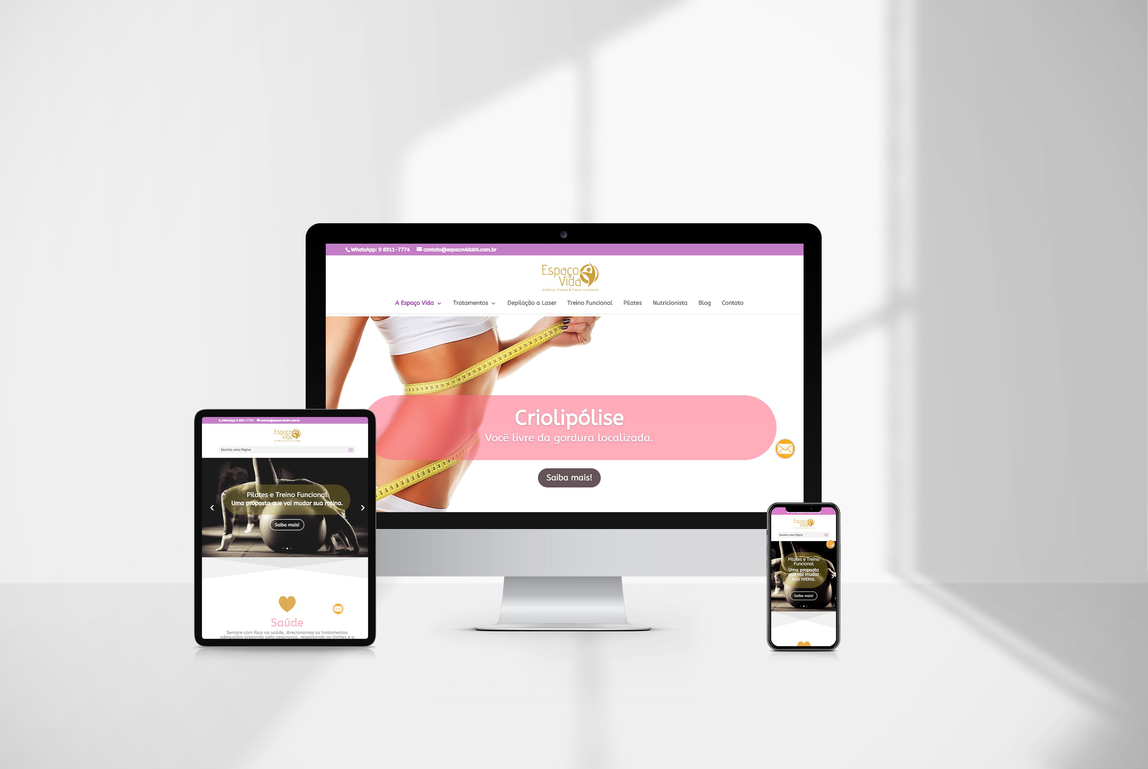 criacao de sites espaco vida - agencia de marketing digital casanova digital