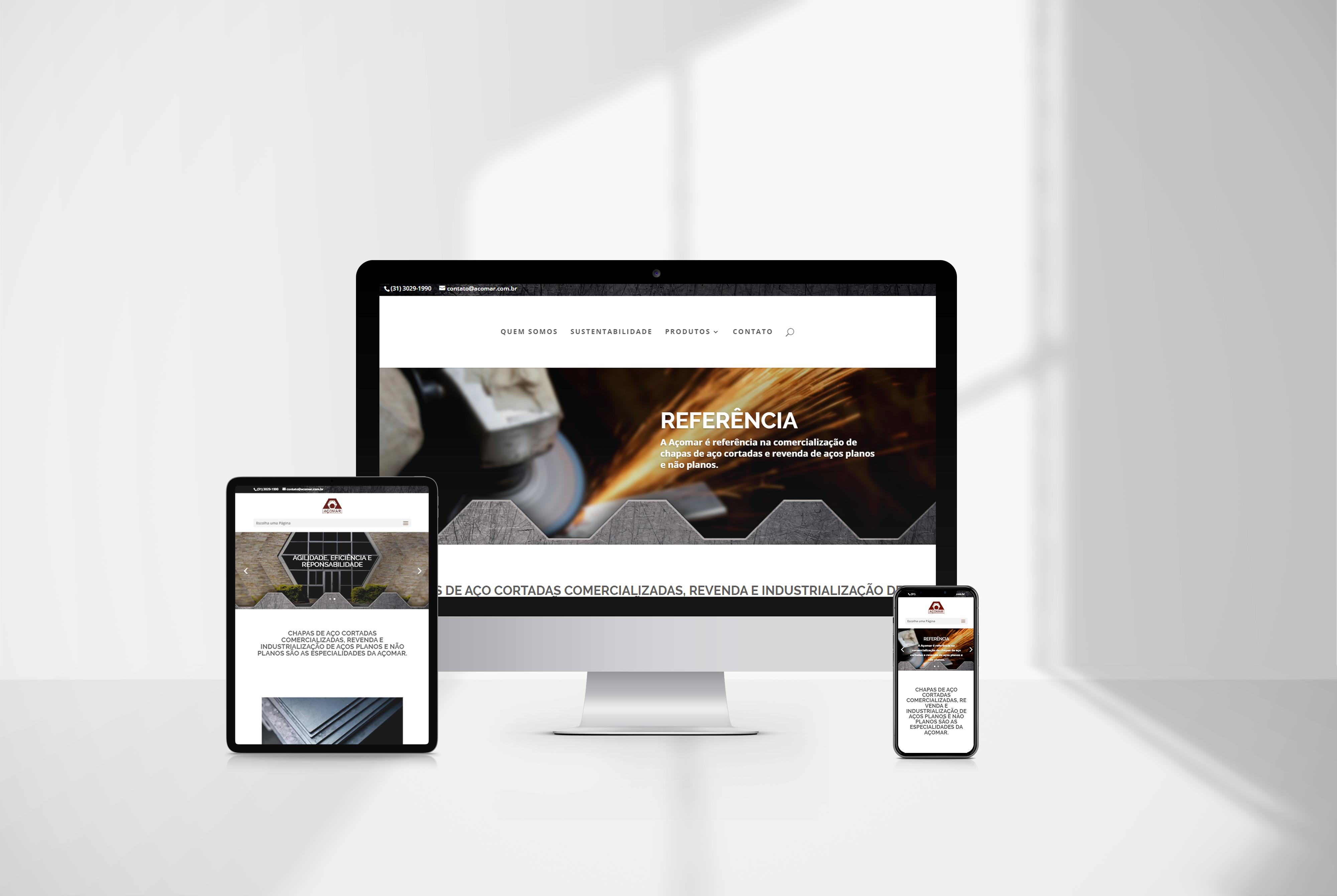 criacao de sites acomar - agencia de marketing digital casanova digital