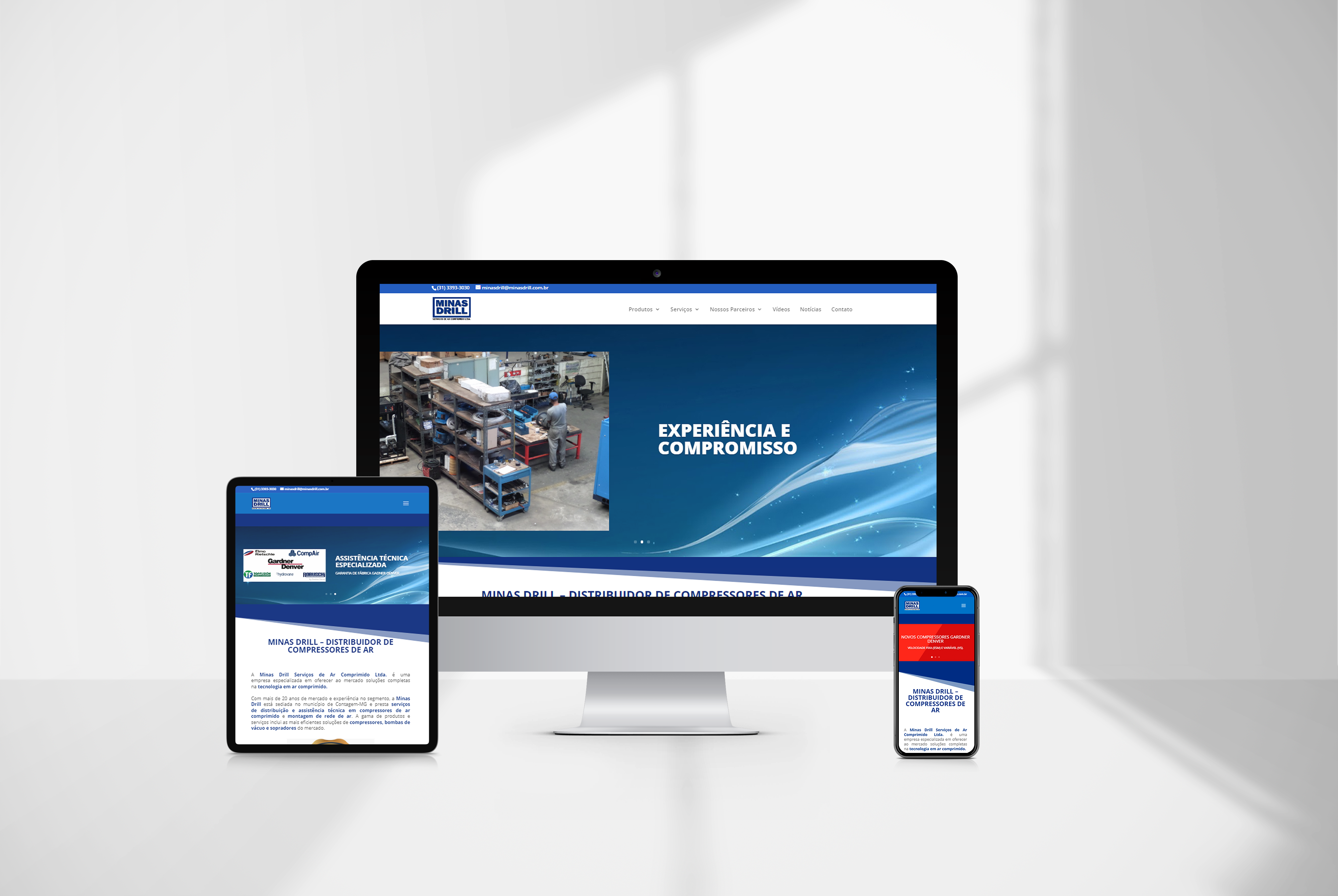 criacao de sites minasdrill - agencia de marketing digital casanova digital