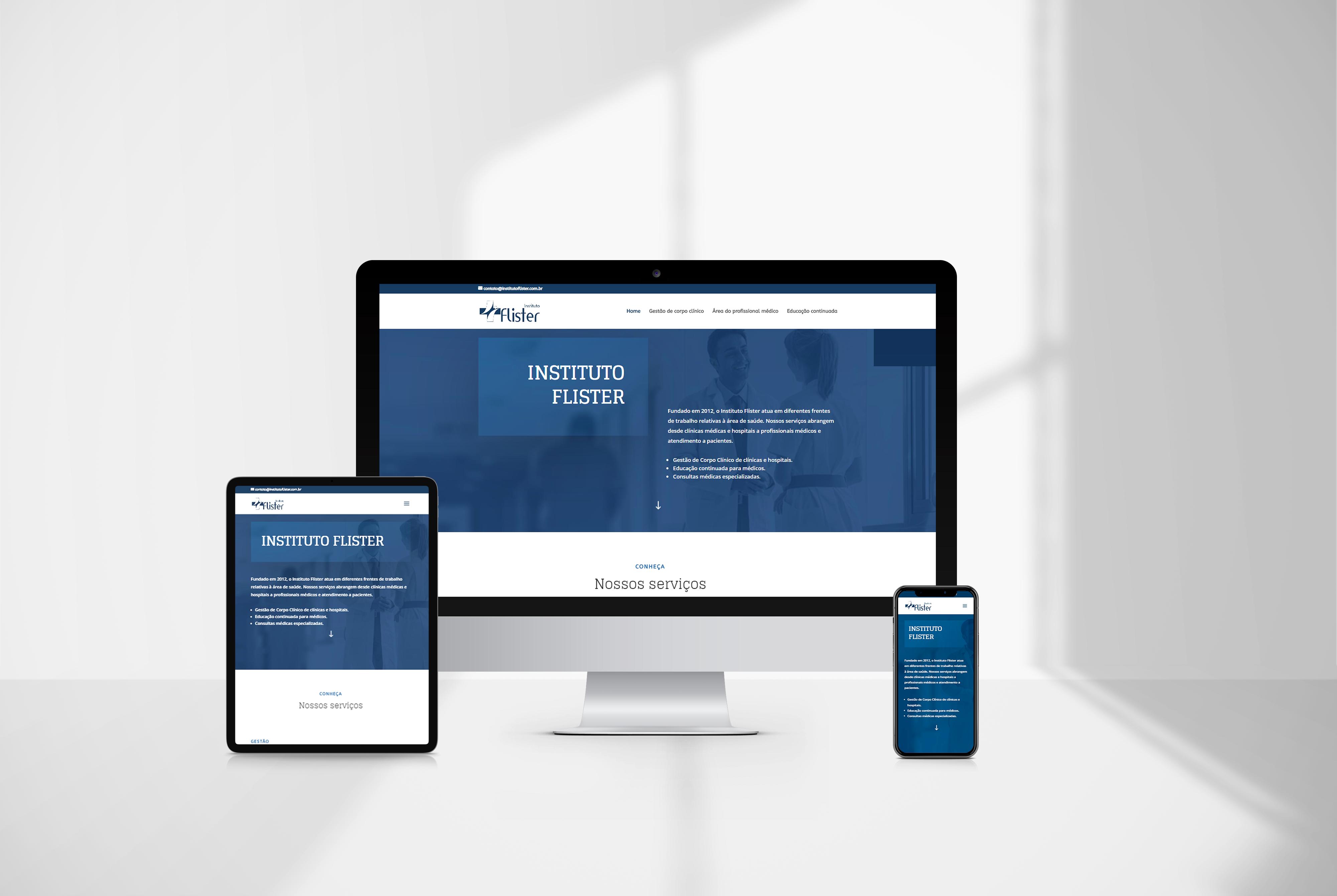 criacao de site flister - agencia de marketing digital casanova digital