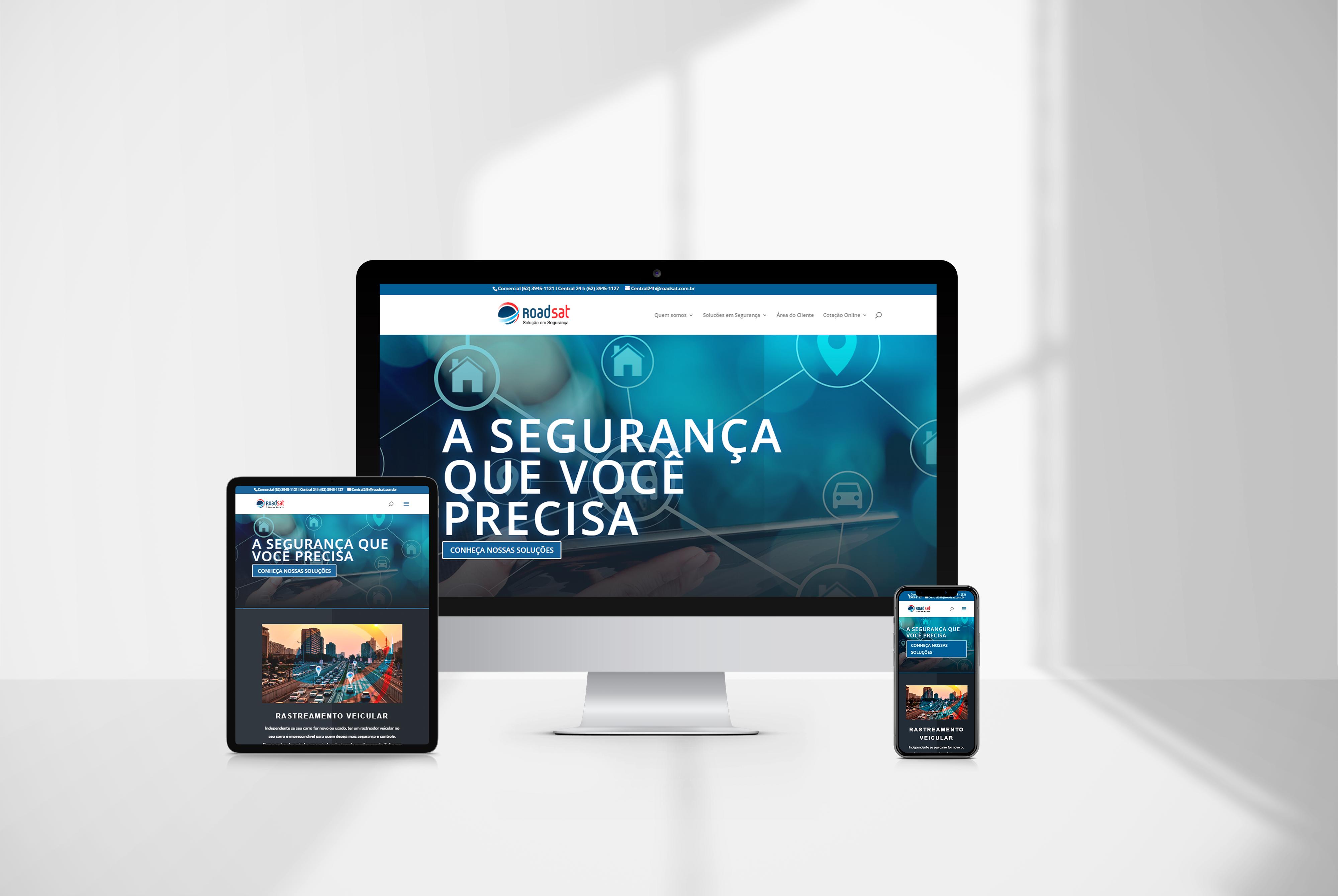 criacao de site Roadsat agencia de marketing digital casanova digital